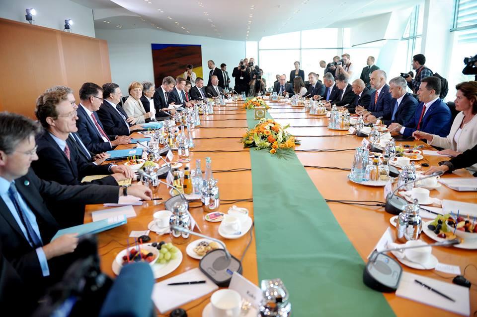 Merkel-Balkans